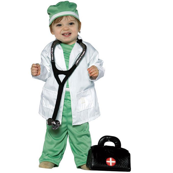 Future Doctor Child Halloween Costume, 18-24 Months
