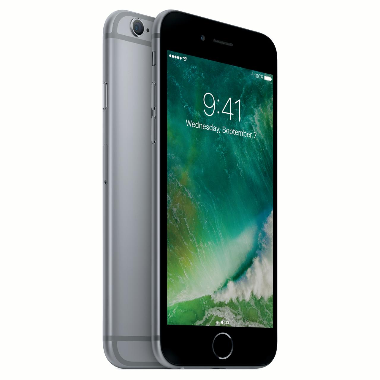 Refurbished Apple iPhone 6S 32GB Space Gray LTE Cellular Straight Talk/TracFone GPAPI6SC32GYV2PWP.2