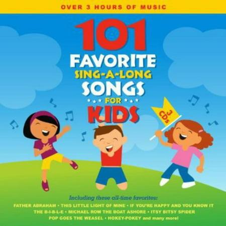 101 Halloween Songs (101 Favorite Sing-A-Long Songs for Kids)