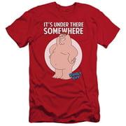 Family Guy Somewhere Mens Slim Fit Shirt