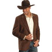 Circle S Mens Chestnut 100% Cotton Lubbock Sportcoat Corduroy Jacket Blazer