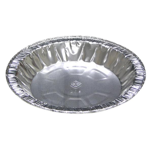 "Pactiv Medium Economy Pan Pie Plate Silver, 5.21"" Diameter x 0.82"" Height, Aluminum   800/Pack"