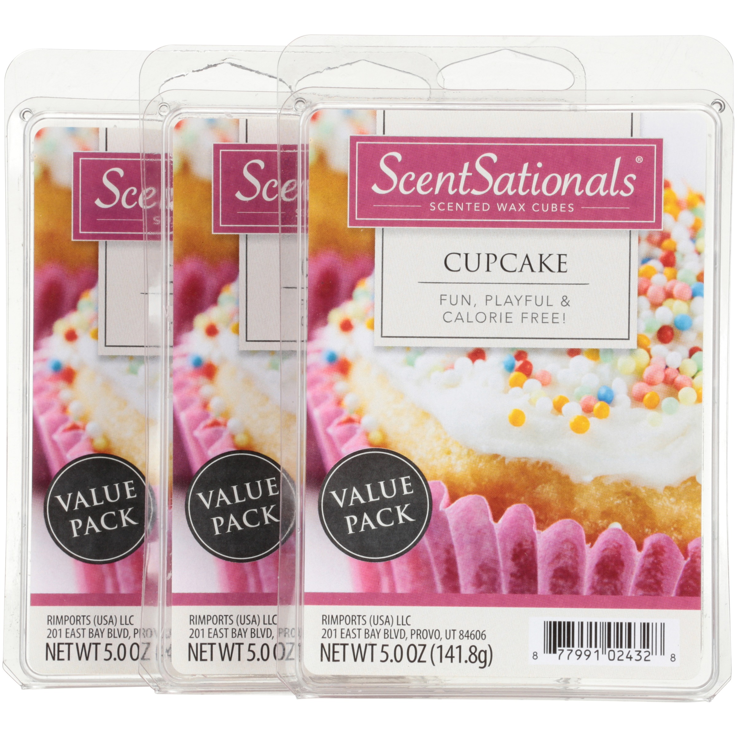 ScentSationals® Cupcake Scented Wax Cubes Value Pack 12 ct Pack