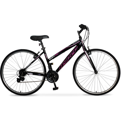 700c Women's Hyper Spinfit Bike, Gloss Black