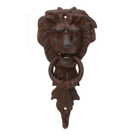Large Iron Lion Head Doorknocker MGS by Upper Deck