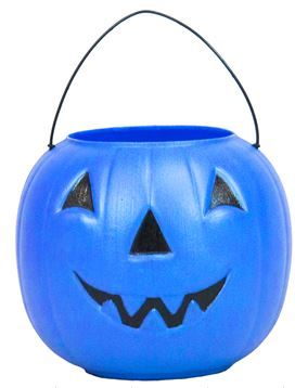 Pumpkins For Sale Blue Truck Figure