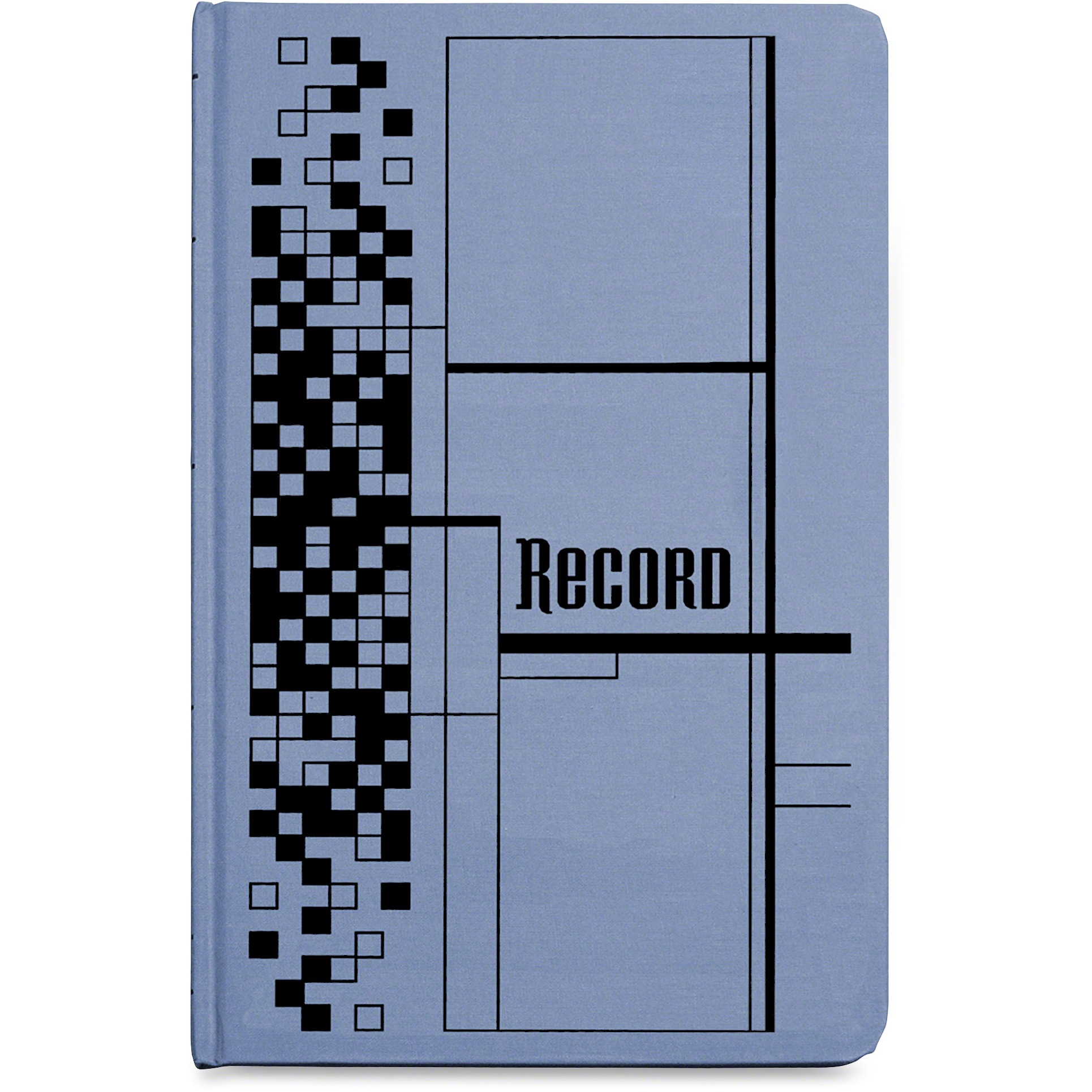 Adams Record Ledger Book, Blue Cloth Cover, 500 7 1 4 x 11 3 4 Pages by TOPS Products