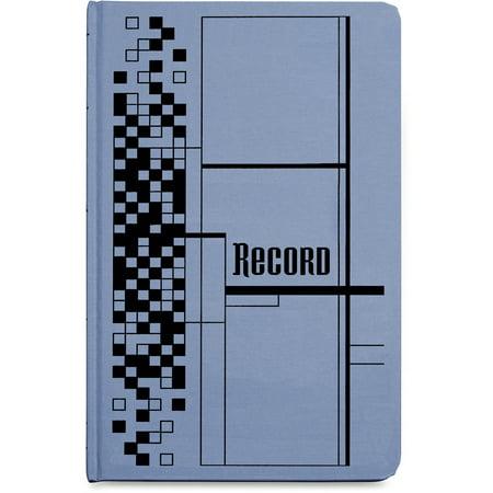 Adams Record Ledger Book, Blue Cloth Cover, 500 7 1/4 x 11 3/4 (Adams Record)