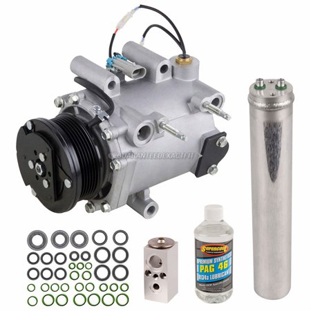 AC Compressor w/ A/C Repair Kit For Chevy Venture Pontiac Buick (Chevy Venture Mileage)