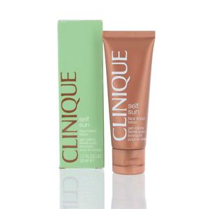 CLINIQUE/SELF SUN FACE TINTED  LOTION 1.7 OZ (50 ML)
