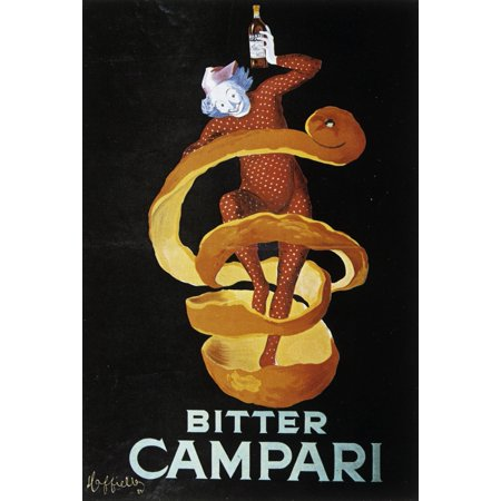 Bitter Campari Canvas Art     24 X 36
