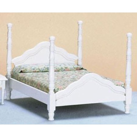 Dollhouse Miniature 4 Poster Bed