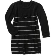 Ht Tg Sweater Dress Blk Stripe