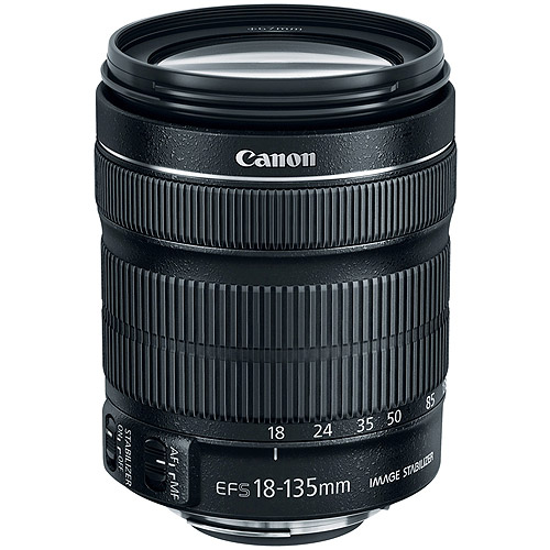 Canon 6097B002 EF-S 18-135mm f/3.5-5.6 IS STM Lens