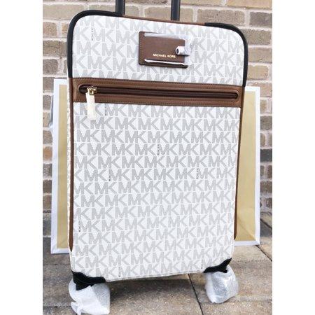 Michael Kors Travel Trolley Carry On Suitcase Vanilla MK (Michael Kors All Black)