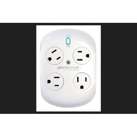 360 Electrical Revolve 4-Outlet Surge Protector (360 Electrical)