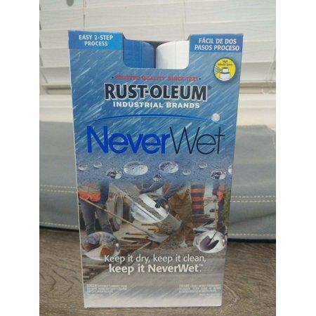 Water Repellent Treatment - NEW RUST-OLEUM 275185 NEVERWET INDUSTRIAL WATER MOISTURE REPELLENT TREATMENT KIT