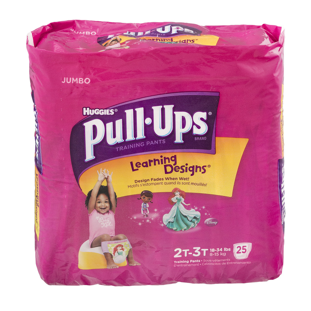 Huggies Pull-Ups Learning Designs Training Pants Disney 2T-3T - 25 CT