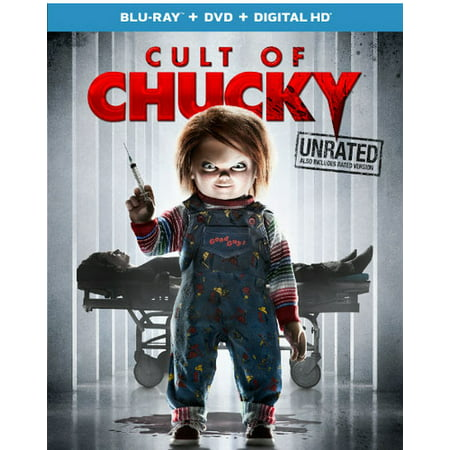 Cult of Chucky (Unrated) (Blu-ray + DVD + Digital - Bride Of Chuckie
