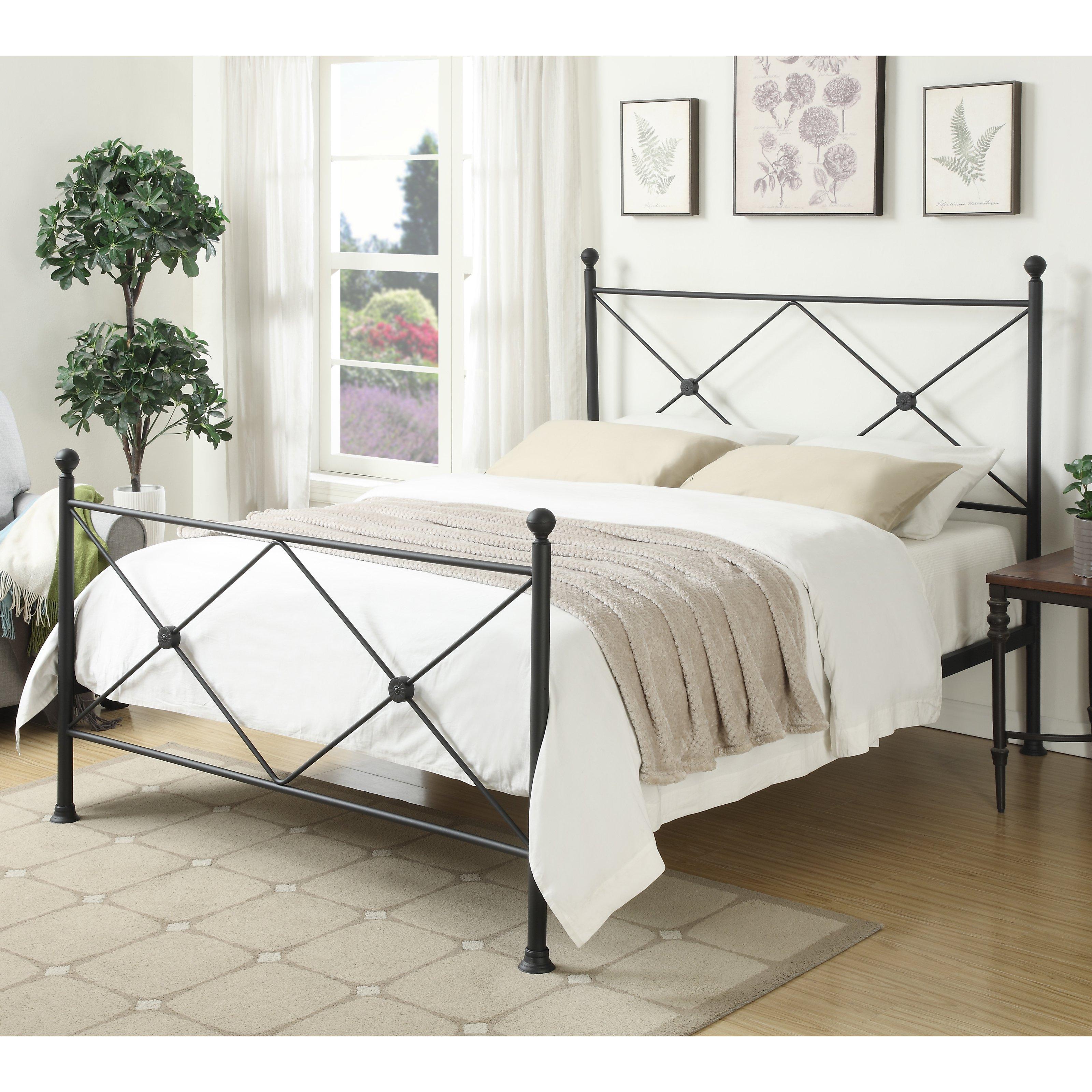 Home Meridian Becket Standard Queen Bed Walmart