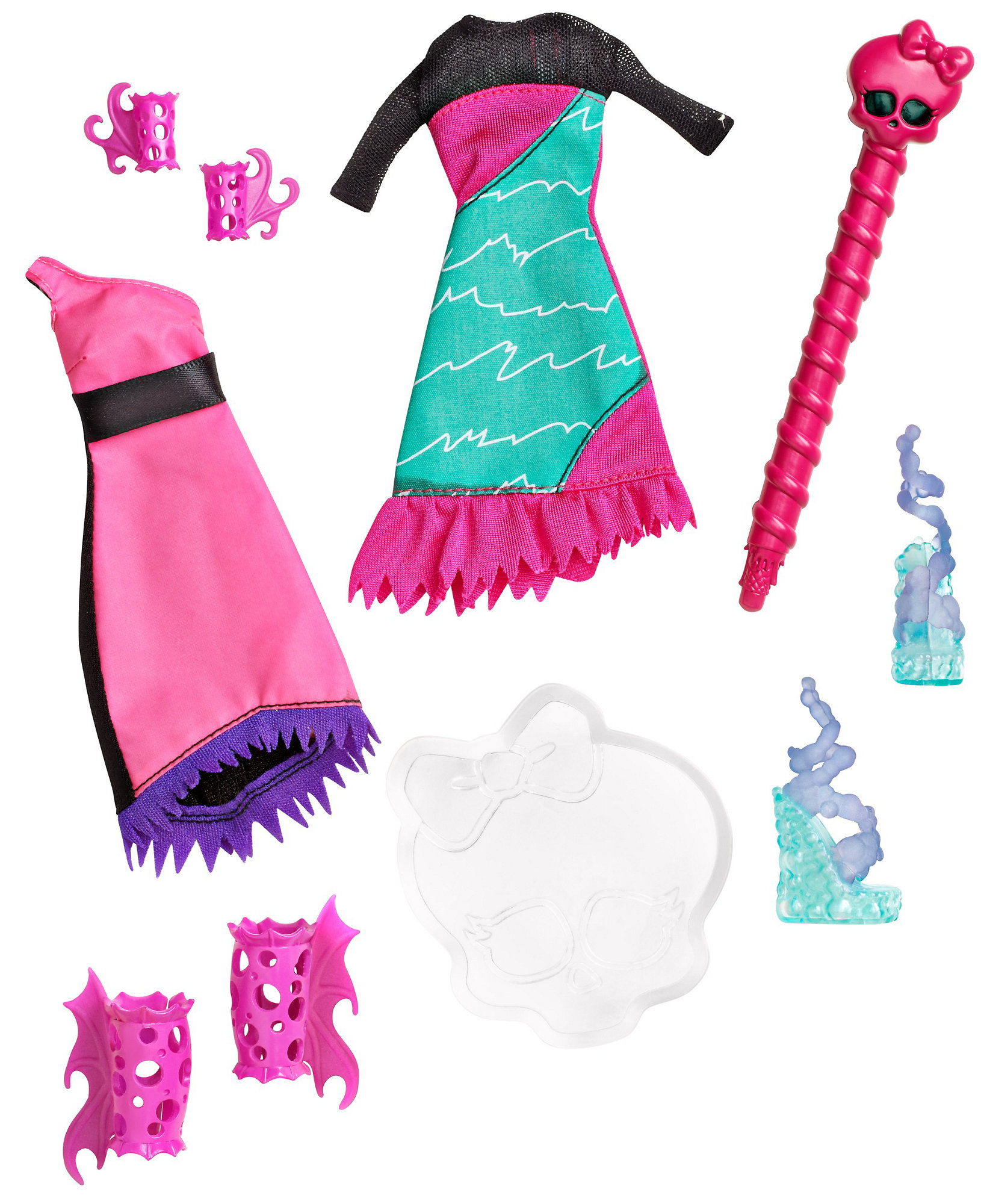 Monster High Create A Monster Color Me Creepy Sea Monster Add On Pack by Mattel