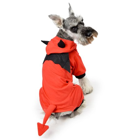 Devil Dog Pajama Size XS - Devil Dog Halloween Costume