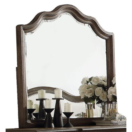 Bowery Hill Mirror in Weathered Oak