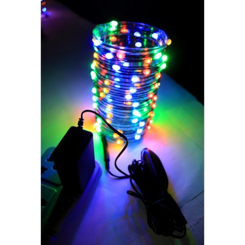 Fairy Lights - 96 LED Wire Lights - Multi - Plug-In