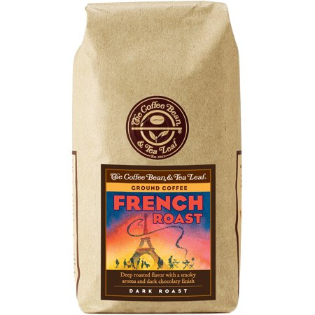 The Coffee Bean & Tea Leaf French Roast Dark Roast Ground Coffee, 12 oz