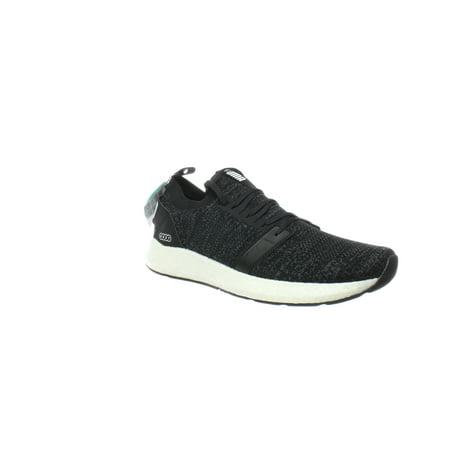 PUMA Mens Nrgy Neko Engineer Knit Black Running Shoes Size 11.5