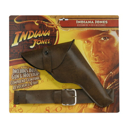 Indiana Jones - Belt with Gun and - Gun Belt Halloween