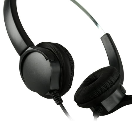 4Pin RJ9 Crystal Headset Handsfree Call Center Noise Cancellation - image 1 de 1