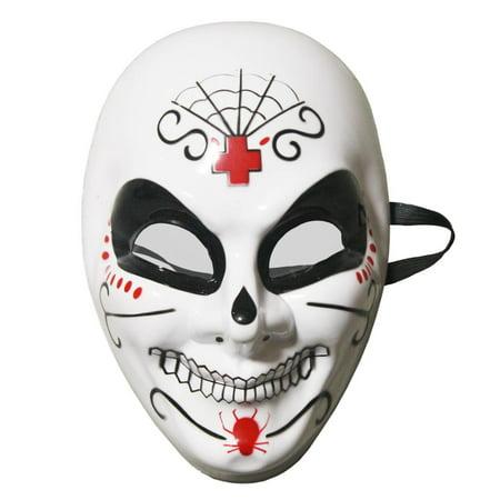 Mens Dia De Los Muertos Costume Mask