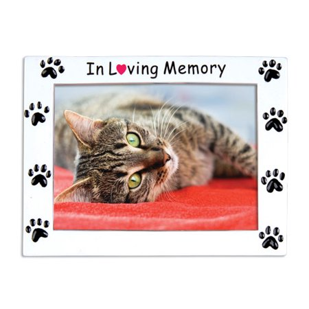 PERSONALIZED CHRISTMAS ORNAMENTS PICTURE FRAME- REST IN PEACE FRAME PETS KIT ()