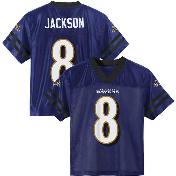 Toddler Lamar Jackson Purple Baltimore Ravens Player Jersey