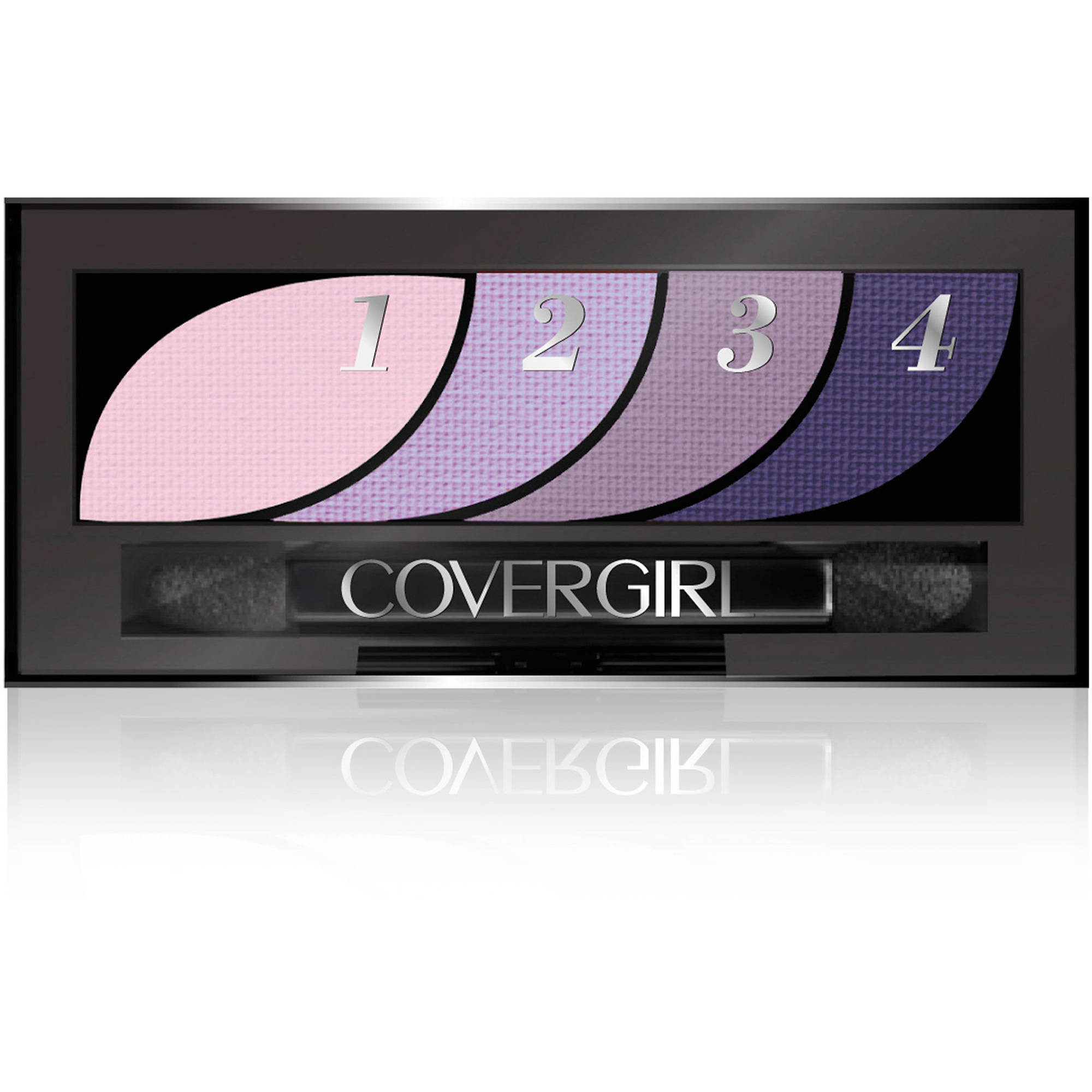 COVERGIRL Eye Shadow Quads, Va-Va Violets, 0.06 oz