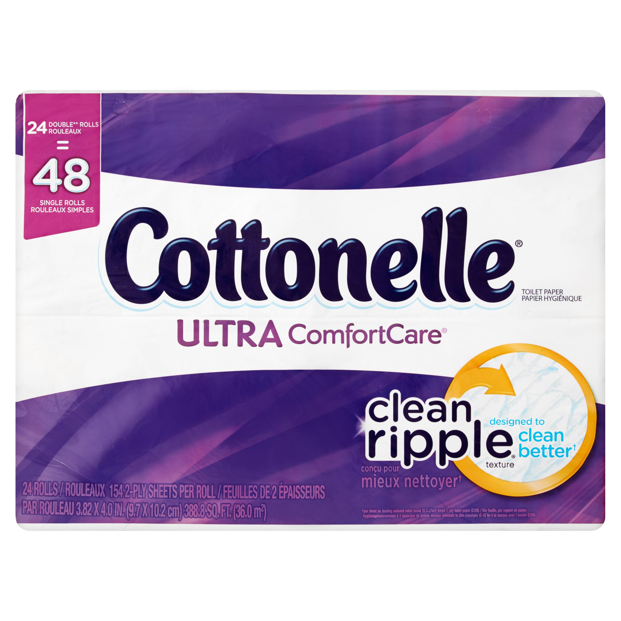 Cottonelle Ultra ComfortCare Toilet Paper Rolls, 24 count by Kimberly-Clark Corp.