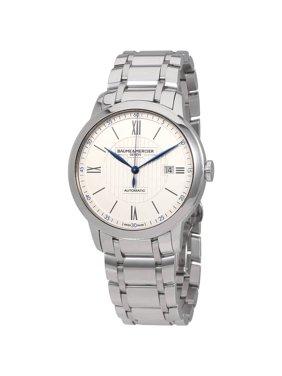 Baume & Mercier Baume et Mercier Classima Automatic Silver Opaline Dial Mens Watch MOA10334