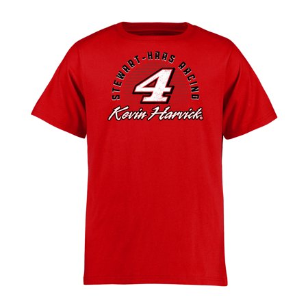 Kevin Harvick Youth Race Day T-Shirt - Red