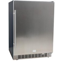 "EdgeStar CBR1501SLD Stainless Steel 24"" Wide 142 Can Built-In Beverage Cooler"