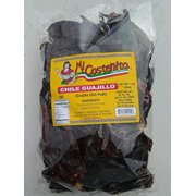 Chile Guajillo 1 pound - Mexican Guajillo Peppers - 1 Lb Dried Whole Chili Pods - Mild to Medium Heat - Sweet Spicy Tangy Fruity Pleasant Flavor -Micostenita