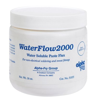 Alpha Fry Paste Flux Water Soluble 16 Oz