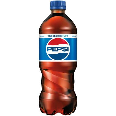 Pepsi Cola 20 Fl Oz Bottle Walmart Com
