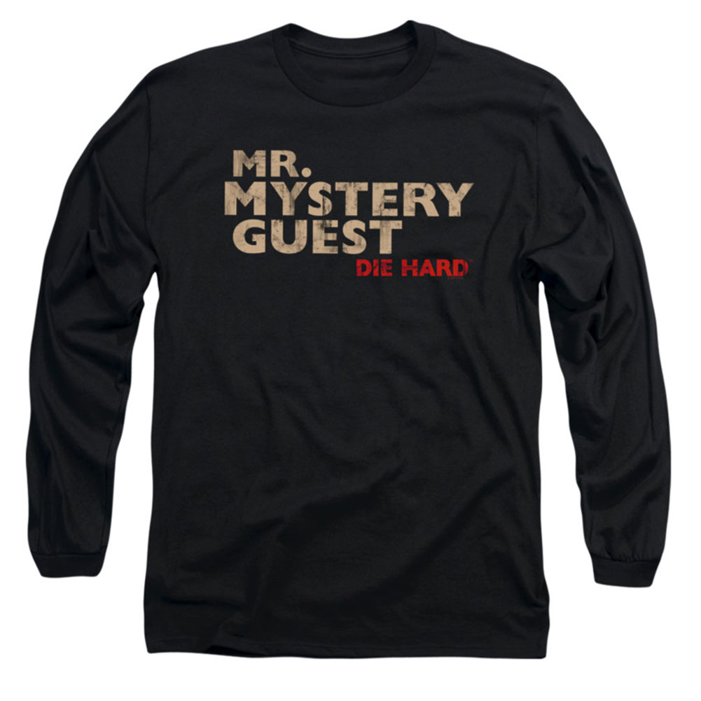 Die Hard Men's  Mystery Guest Long Sleeve Black
