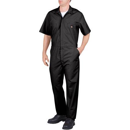 Dickies Men's Short Sleeve Deluxe Poplin Coverall