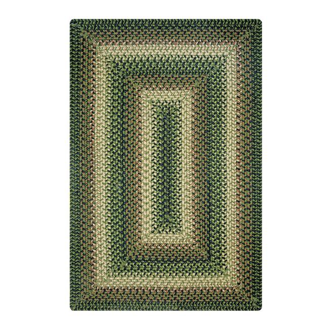 Homespice Decor 731098 13 x 36 in. Northwoods Oval Table Runner - Green, Brown - image 1 de 1
