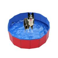 Animal Pets Wash Swimming Pool Bathtub Foldable Washable Portable Bathing Tub For Dogs Cats
