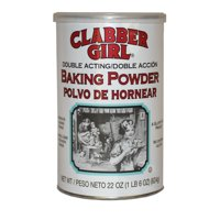 (2 Pack) Clabber Girl Double Acting Baking Powder, 22 oz