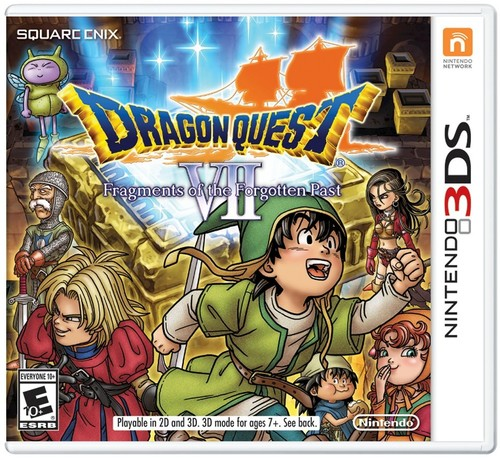 Dragon Quest VII: Fragments of the Forgotten Past, Nintendo, Nintendo 3DS, 045496743703
