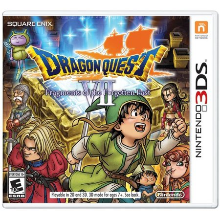 Dragon Quest VII: Fragments of the Forgotten Past, Nintendo, Nintendo 3DS,